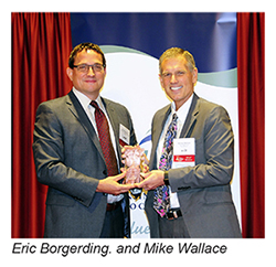 Eric Borgerding and Mike Wallace