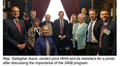 WHA and members meeting with Rep. Gallagher